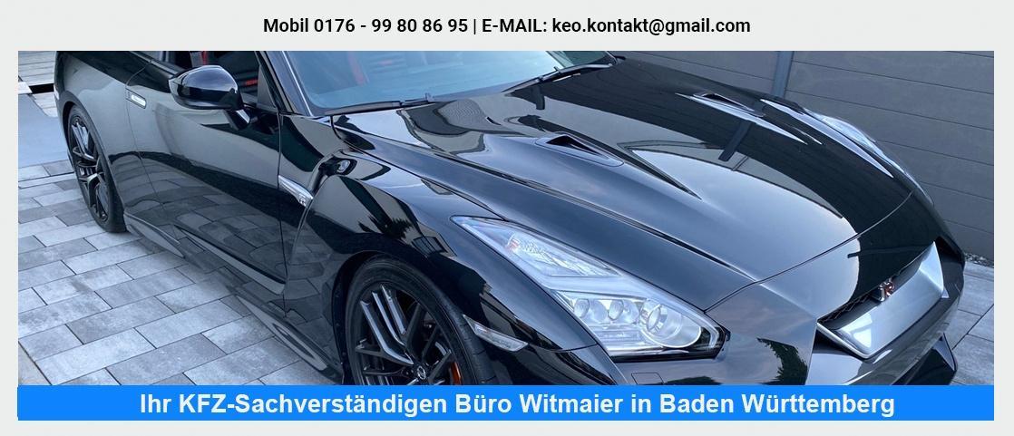 KFZ Gutachter in der Nähe von Oberriexingen - Fahrzeug-Sachverständigenbüro Witmaier: LKW Gutachten, Fahrzeugbewertung, KFZ Kaufberatung