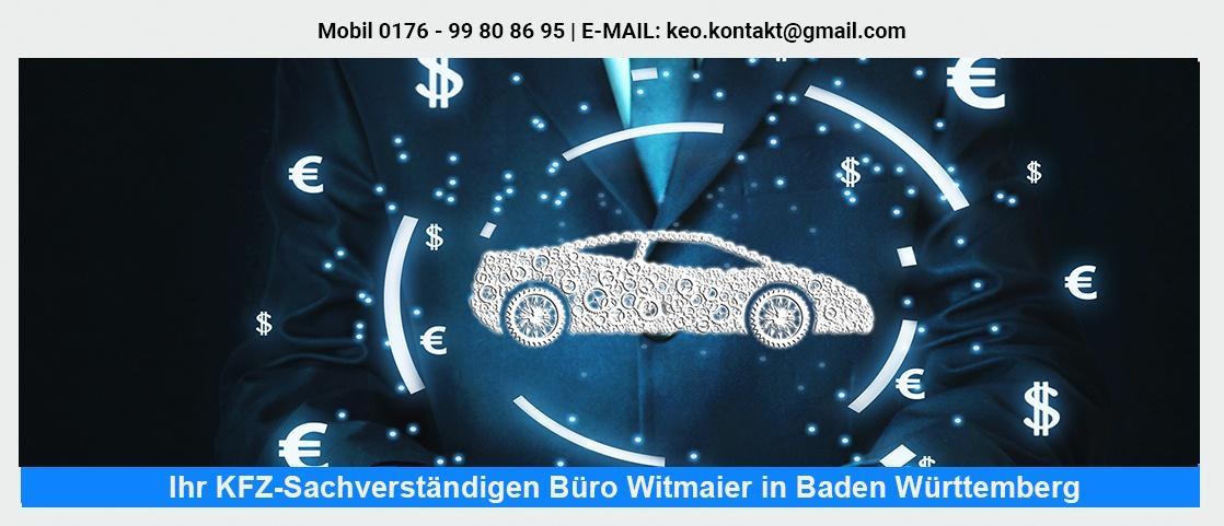 KFZ Gutachter  Marbach (Neckar) - Fahrzeug-Sachverständigenbüro Witmaier: LKW Sachverständiger, Unfallgutachten, KFZ Kaufberatung